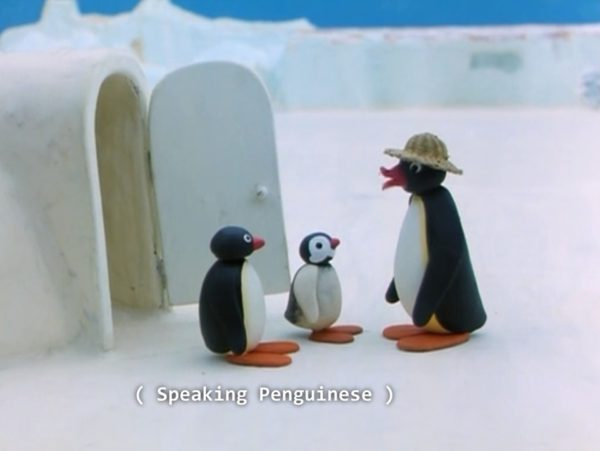 Speaking penguinese