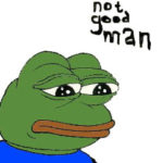 Pepe the Frog - Sad