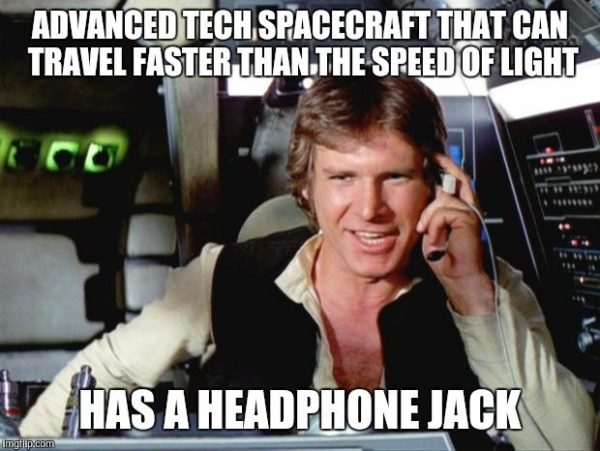 Headphone Jack in Star Wars