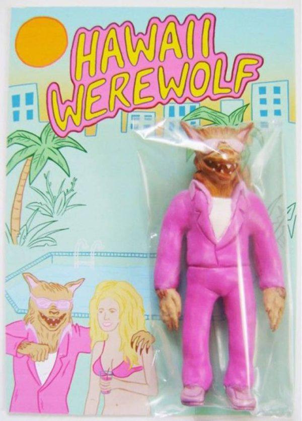 Hawaii Werewolf Actionfigur