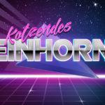 Kotzendes Einhorn - Retro