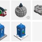 LEGO Weihnachtsbaumschmuck
