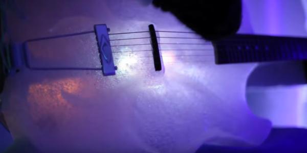 Instrumente aus Eis