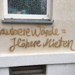 Saubere Wände = Höhere Mieten