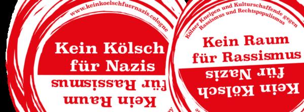 Kein Kölsch für Nazis