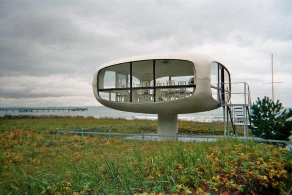 Schalenbauten: Der Rettungsturm in Binz dient mittlerweile dem Standesaamt