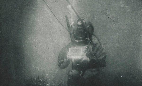 Unterwasser-Portraitfoto