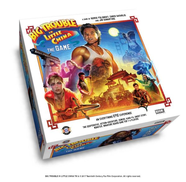 Brettspiel: Big Trouble in little China