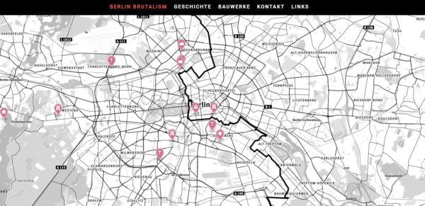 Brutalistische Architektur in Berlin