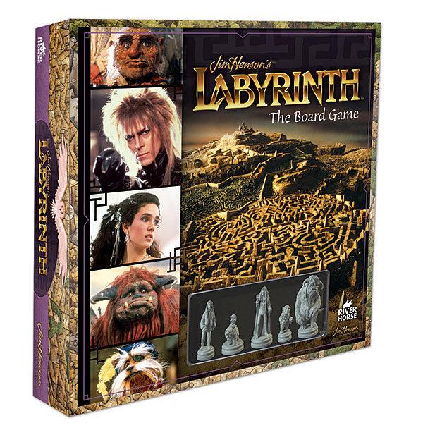 Jim Hensons Labyrinth Brettspiel