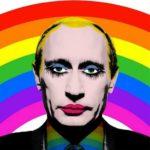 """Putin als """"schwuler Clown"""""""