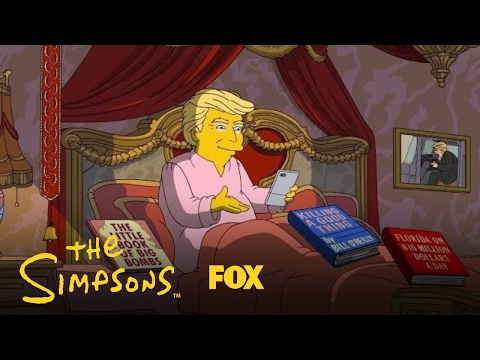 Simpsons Trump