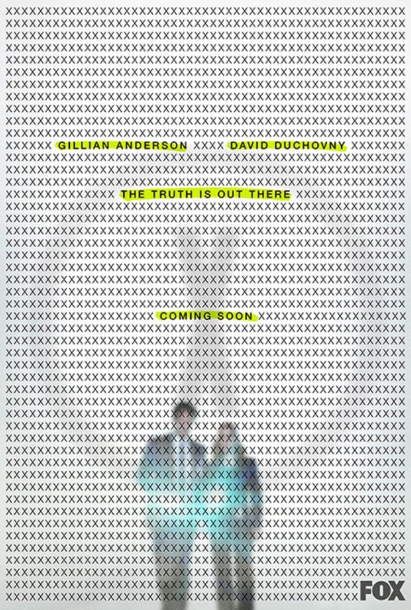 Akte X Teaser-Poster für eine elfte Staffel
