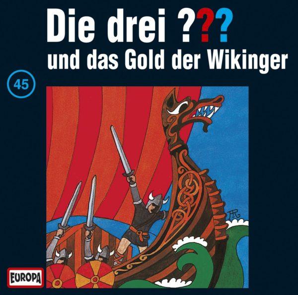 Die drei ??? und das Gold der Wikinger - Ein Cover von Aiga Rasch