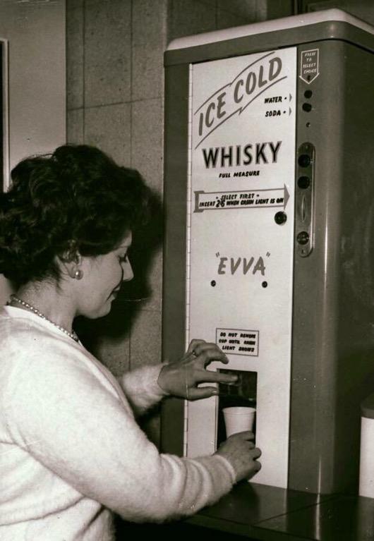 Getränkeautomat - Ice Cold Whisky