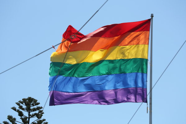 Ehe für alle kommt - Regenbogenfahne, Symbol der LGBT-Community