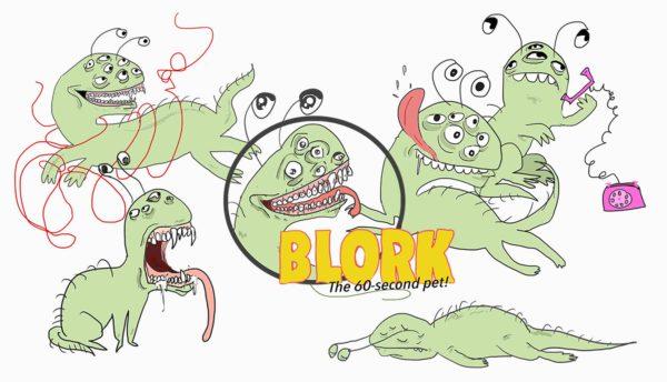 Blork - Das 60 Sekunden Tamagotchi