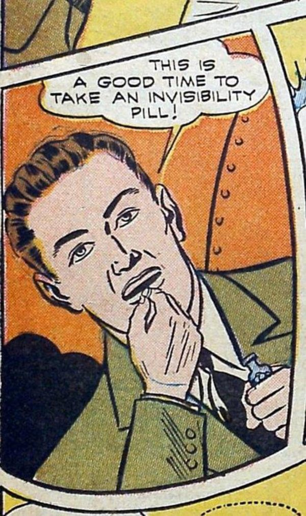 Unsichtbarketis-Pillen