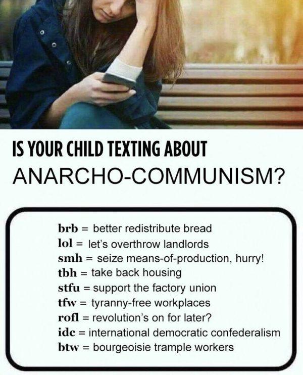 Texting über Anarcho-Kommunismus