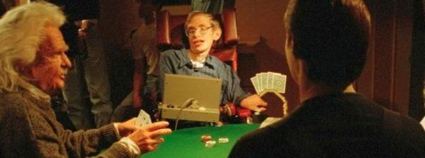Stephen Hawking spielt Poker in TNG