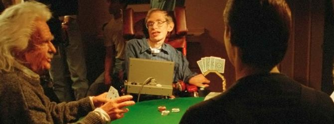 Stephen Hawking spielt Poker in TNG