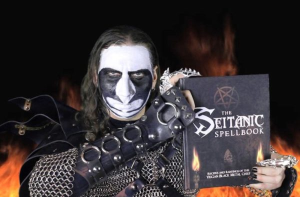 Seitanic Spellbook vom Vegan Black Metal Chef