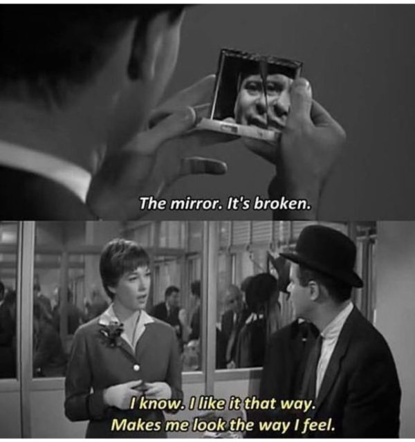 The Mirror - It's broken...