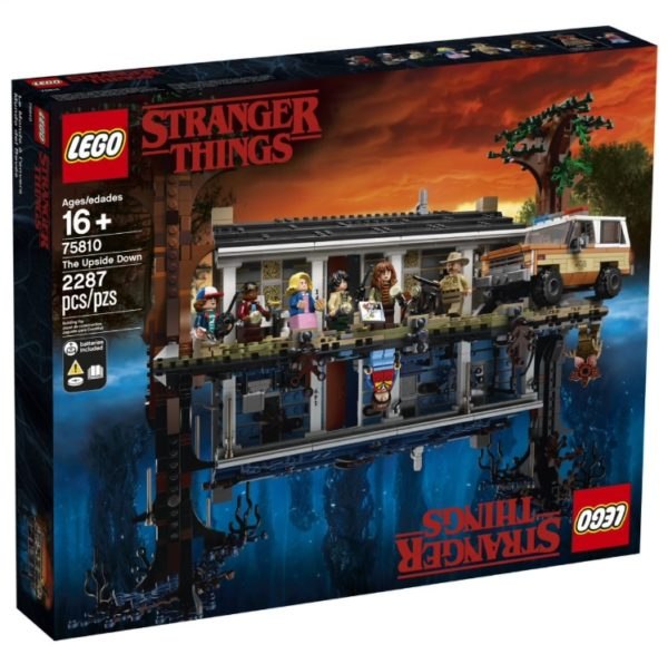 The Upside Down - Das Stranger Things Lego Set