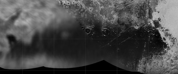Cthulhu Regio auf Pluto