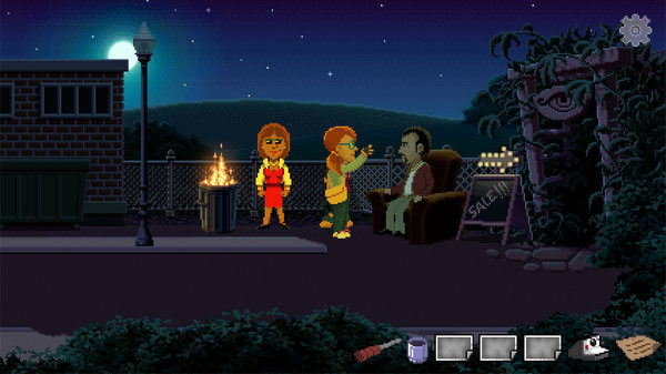 Screenshot aus Delores: A Thimbleweed Park Mini-Adventure